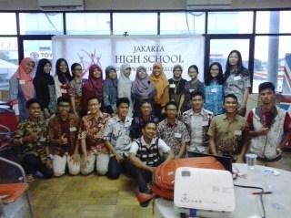 Peserta Jakarta High School Entrepreneur Challenge (JHSEC ) 2014.  (anisa/kis/pkpu).