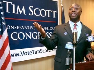 Tim Scott, anggota Senat terpilih dari negara bagian South Carolina (traditionofexcellence.wordpress.com)