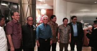 Para petinggi partai di KMP dalam rapat KMP, Kamis (29/1) (Twitter)