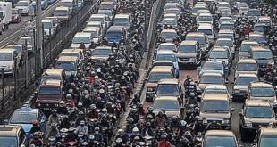 Kemacetan di Jakarta.  (infonitas.com)