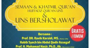 Seminar Alquran dan Sains UNS. (IST)
