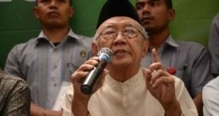 pengasuh Pondok Pesantren Tebuireng Jombang KH Salahuddin Wahid atau Gus Solah.