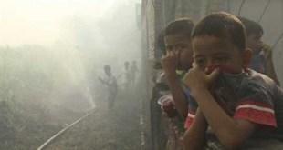 Bencana kabut asap memerlukan penanganan serius dari pemerintah. (goriau.com)