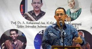 Rektor Universitas Indonesia (UI), Mohammad Anis. (ist)