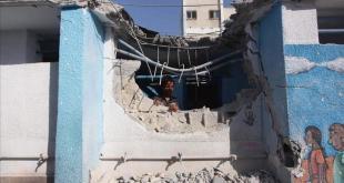 Bangunan yang hancur akibat agresi Israel (aa.com.tr)