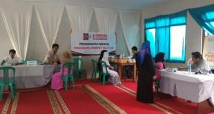 Penyuluhan dan Pengobatan gratis Pesantran Hidayatullah Bogor, Ahad (21/2/2016).