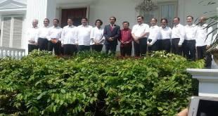 Menteri baru hasil Reshuffle Kabinet jilid 2. (Sindonews.com)