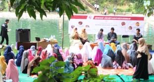"""Sarasehan Remaja Berbicara"""" yang gelar oleh Garuda Keadilan bertempat di Balong Dalem, Kuningan. Ahad (28/8/2016). (Azhar Fakhru Rijal/Garuda Keadilan)"""