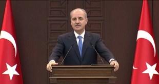 Wakil PM sekaligus jubir pemerintahan Turki, Numan Kurtulmuş. (turkpress)