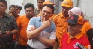 Basuki mengatakan bahwa Bundaran HI Tidak mungkin Banjir. (tribunnews.com)