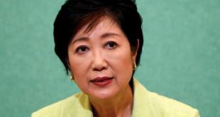 Gubernur Tokyo, Yuriko Koike. (aljazeera)