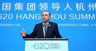 Presiden Turki Erdogan di KTT G20, Cina. (aa.tr.com)