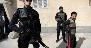 Polisi Mesir bersenjata lengkap di 'Arish (islammemo.cc)