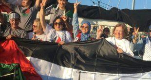 Para penumpang di kapal Zaytouna - Oliva. (aspacpalestine.com)