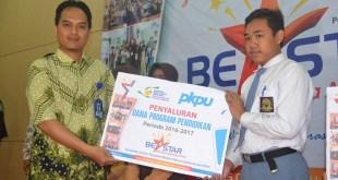 PKPU Balikpapan menggelar Launching Beasiswa Akselerasi Pintar (BE A Star) Periode 2016-2017, Sabtu (15/10/2016). (Rohim/Putri/PKPU)