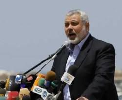 PM Palestina Ismail Haniyah. (getty images)