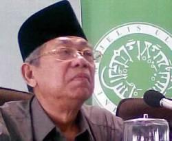 Ma'ruf Amin Ketua MUI. (inet)