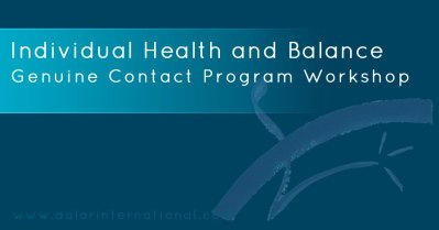 Individual Health and Balance Workshop