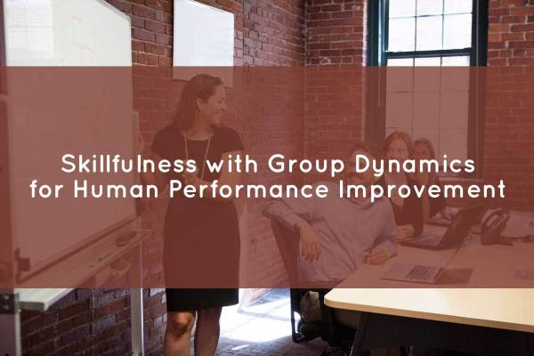 Group Dynamics for Human Performance Improvement