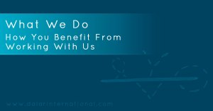 How You Benefit From Working With Us