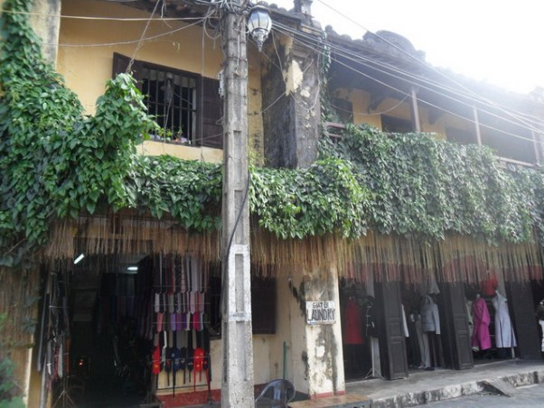A laundry store in Hoi An