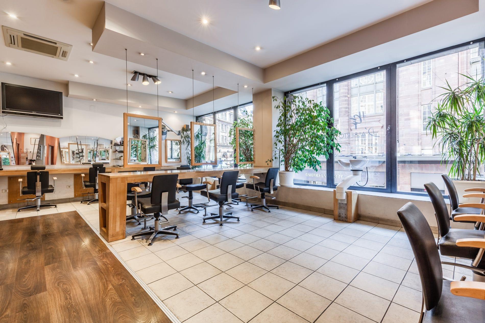 salon de coiffure à Strasbourg D'alberto