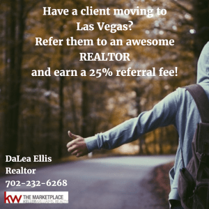 DaLea Ellis - Realtor - Keller Williams - referral fee las vegas