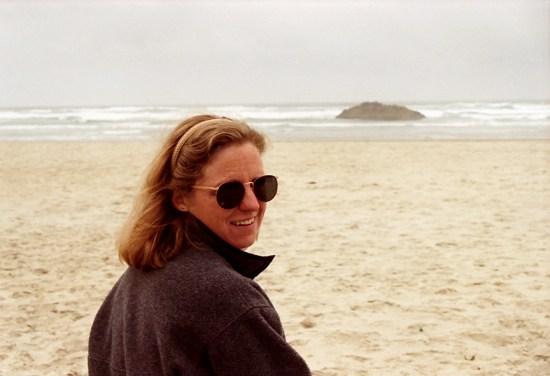 Laura at Hug Point