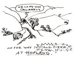 Hopland Sketch by Peter Borden