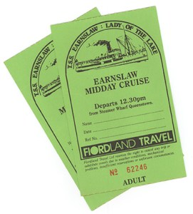 Earnslaw Tickets