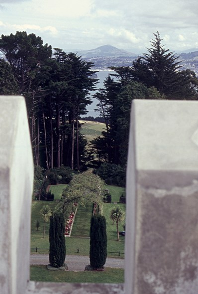 The arbor from the battlements