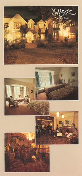 Postcard from Eliza's Manor House