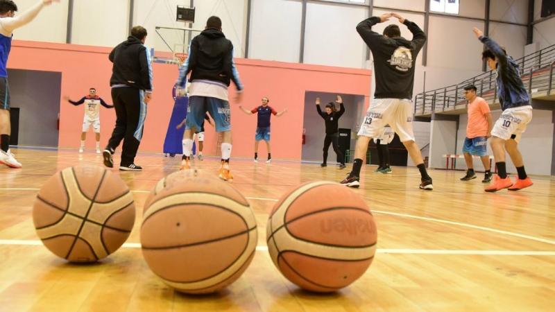 entrenamiento basquet