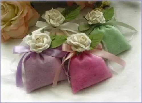 Bolsas de tela para souvenirs
