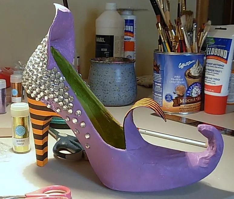 8c6c224d6 Dale Detalles Zapatos De Bruja Cómo Hacer q86IIO   apparatus ...