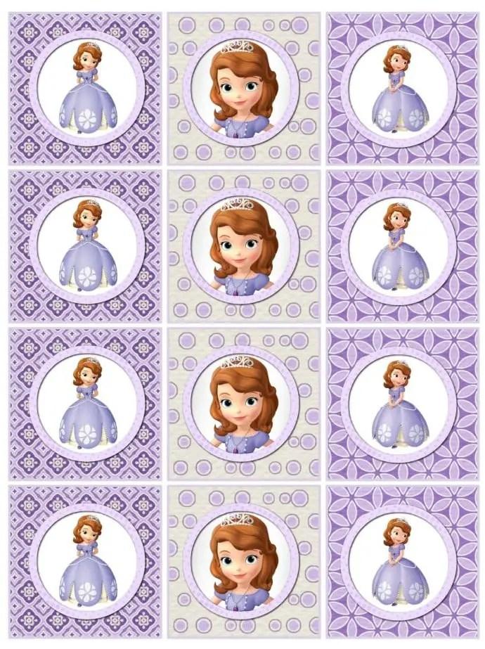 Imprimibles Gratis Princesita Sofía Dale Detalles