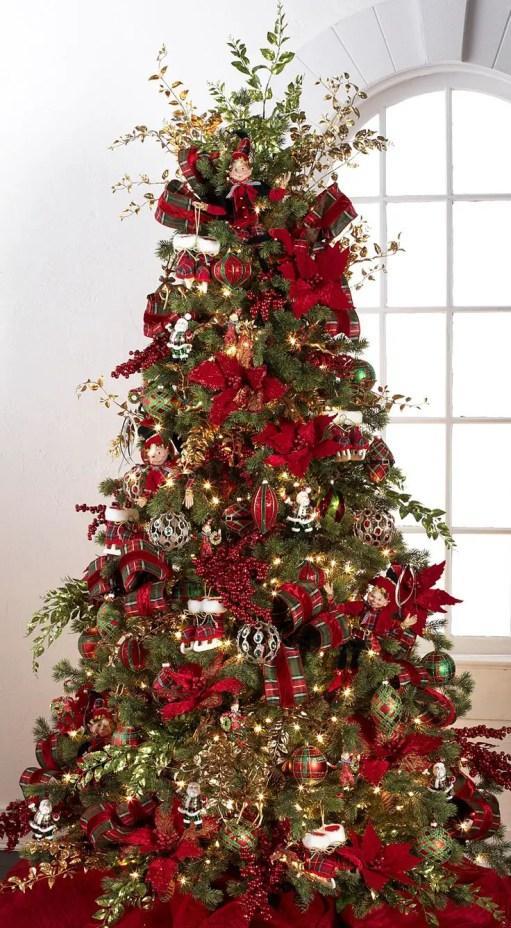 RAZ Imports 2015 - Tally Tartan Tree