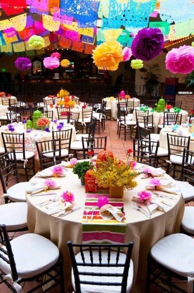 Boda con temtica mexicana dale detalles el hecho de realizar una boda mexicana no significa que se pierda elegancia o actualidad al contrario puedes conjuntar tantos elementos como desees para altavistaventures Gallery