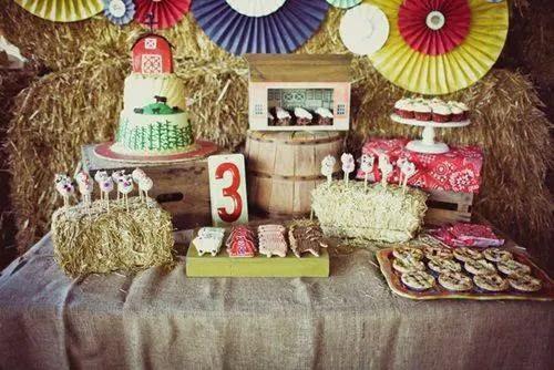 decoracion infantil tematica granja