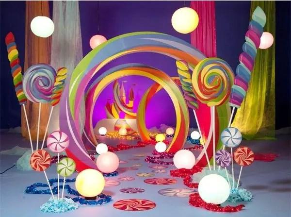 Ideas de decoraci n candy land dale detalles - Ideas para decorar mesas de chuches ...