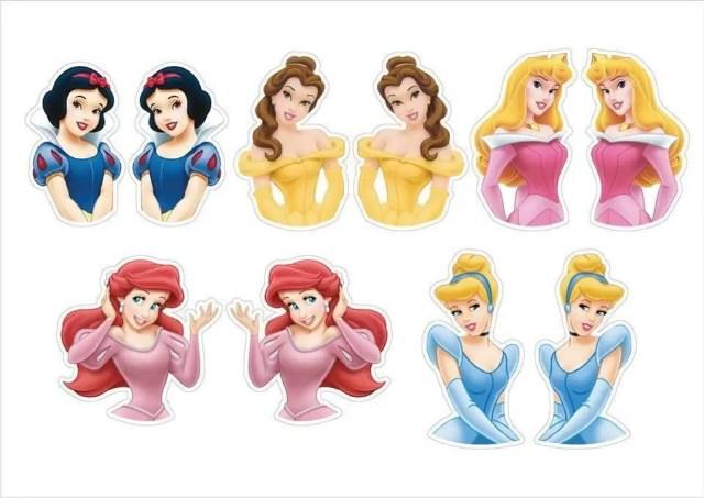 imprimibles de princesas
