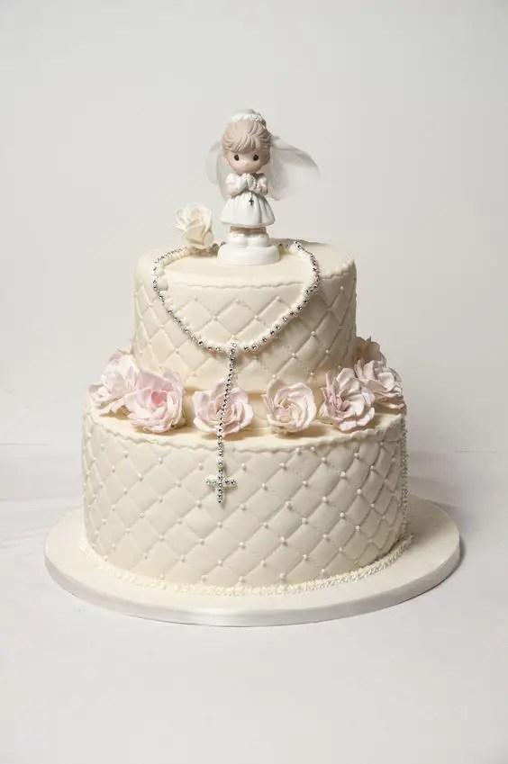 primera comunion pastel