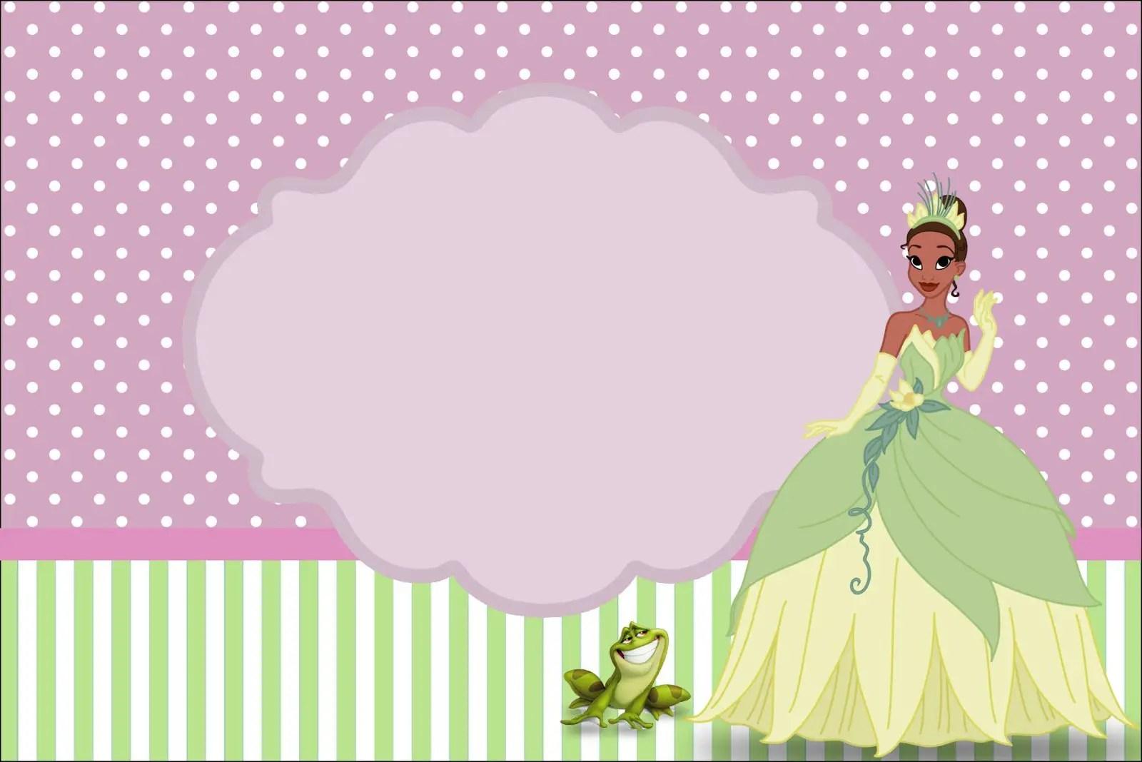 Imprimible gratis La Princesa y el sapo - Dale Detalles