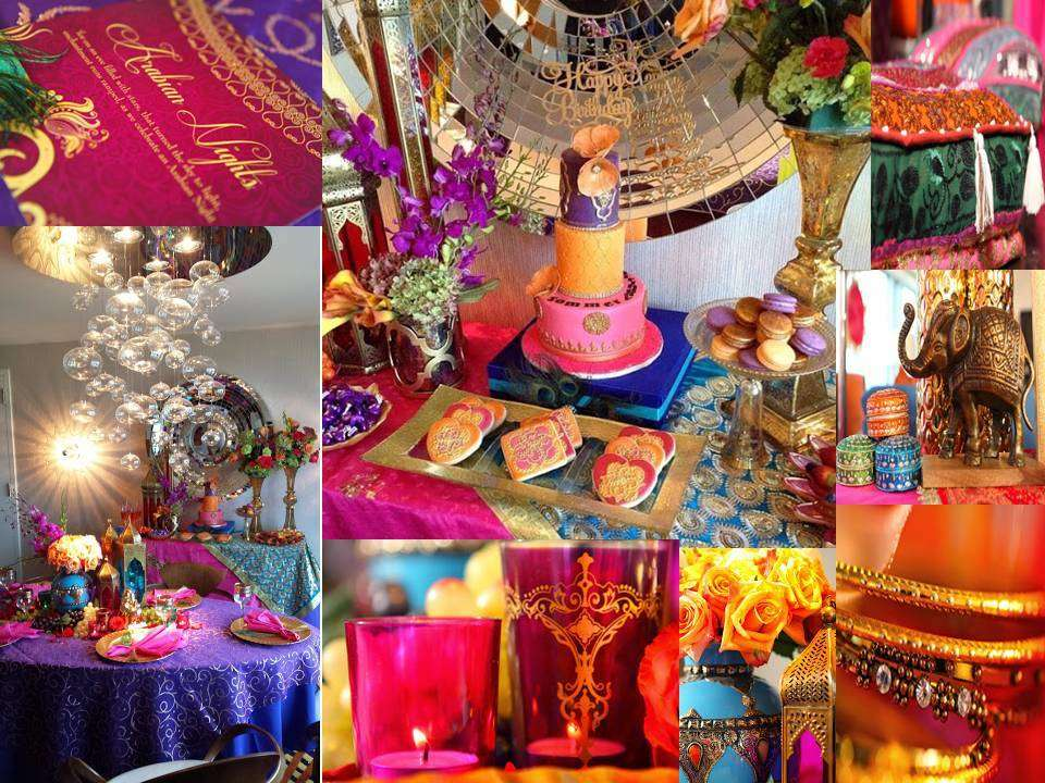 Fiesta estilo marroqu dale detalles for Arabian night decoration ideas