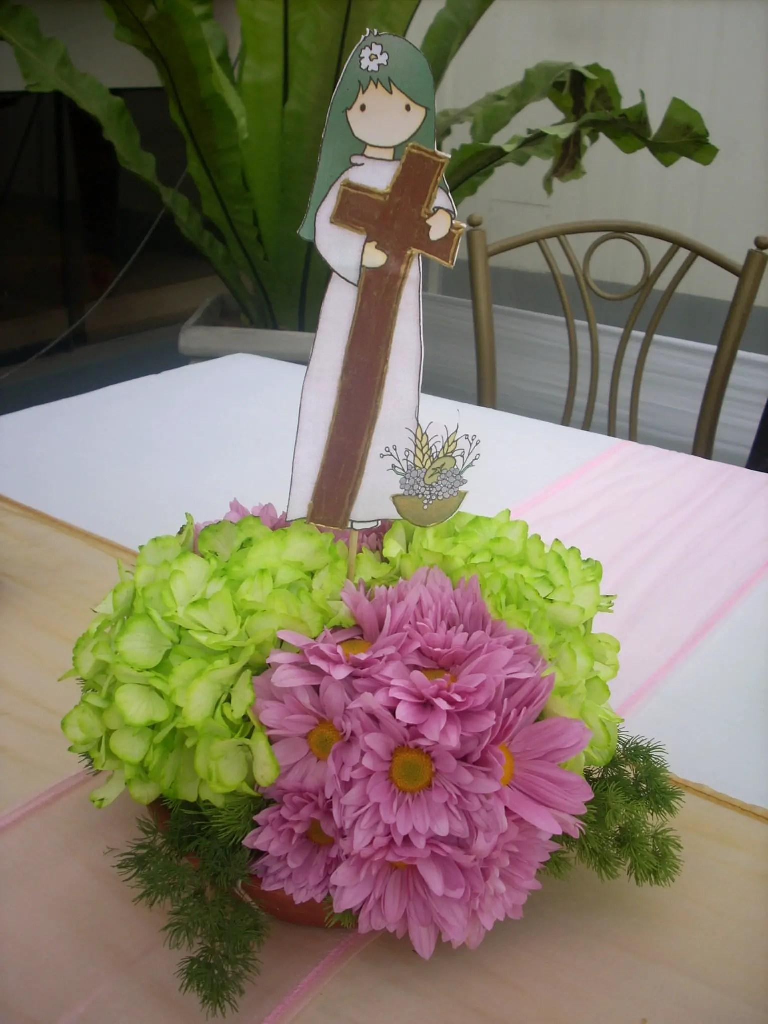 Centros de mesa para primera comuni n dale detalles - Centros d mesa primera comunion ...