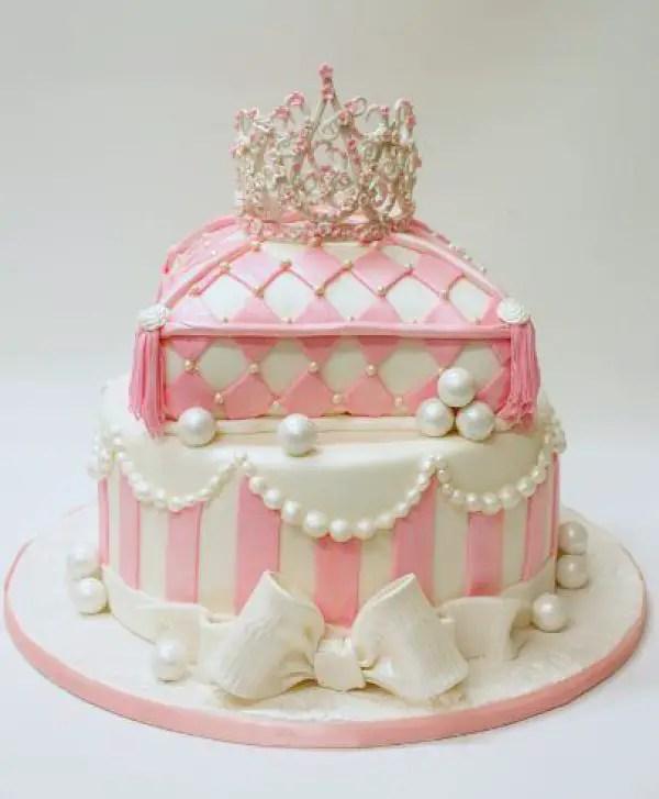 First Birthday Cake Vintage