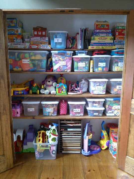 Playroom Craft Storage Art Supplies