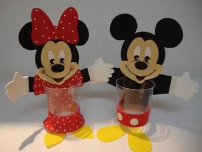 Dulceros Sencillos De Minnie Y Mickey Dale Detalles