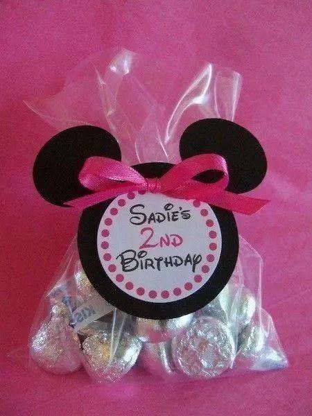 Dulceros Sencillos De Minnie Y Mickey