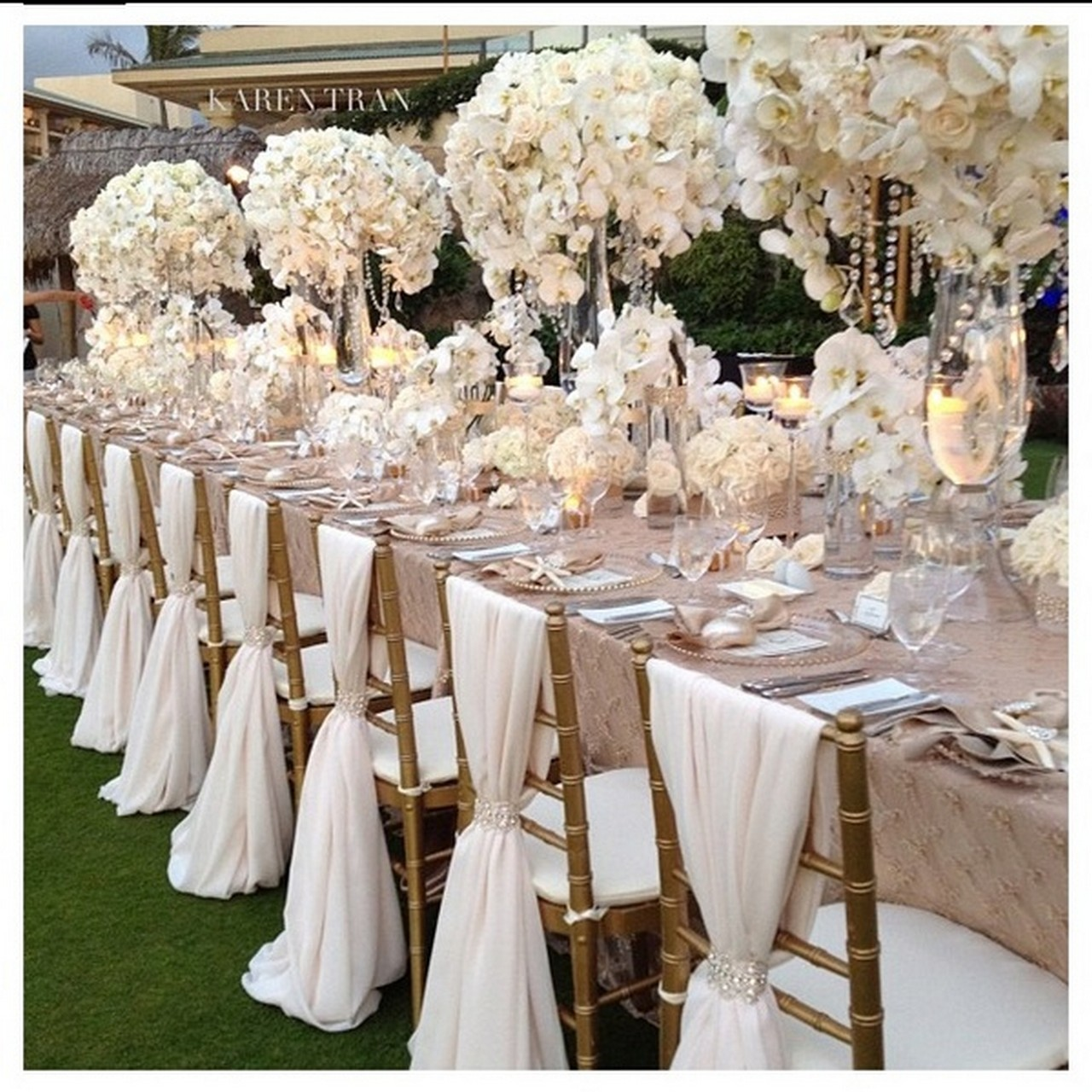 ivory wedding chair covers hire bosuns sillas decoradas para eventos dale detalles